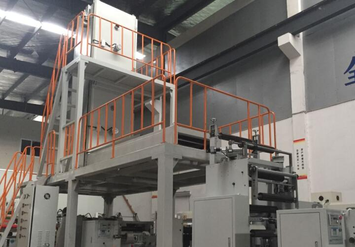 Thermal insulation film coating machine